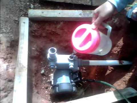 Memasang Pompa Air Sanyo Youtube
