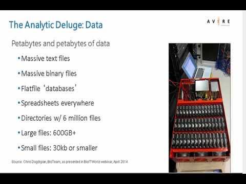 Avere Scientific Data Explosion Webinar Preview