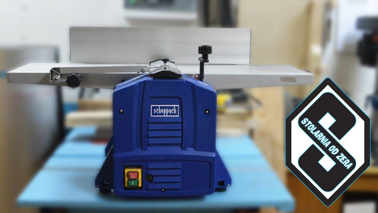 Strugarka Grubościówka Scheppach Hms1070 Recenzja Test Opinia