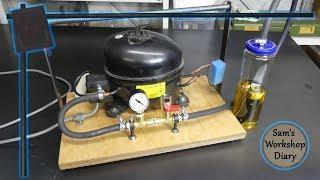 Vacuum Pump from Fridge Compressor