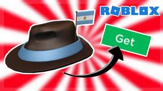 "TAKE ITEMS ""International Fedora-Argentina"" FREE | ROBLOX"