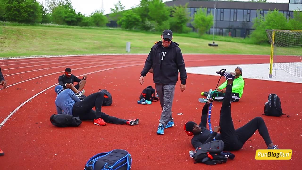 RunBlogRun Interviews Lance Brauman @ adidas Boost Athletics Meeting