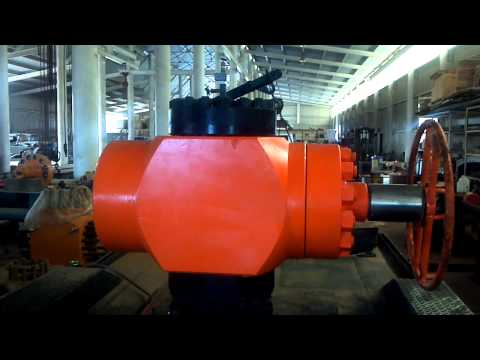 Bullhead Equalizer Valve, Woman Opens at 15000 psi