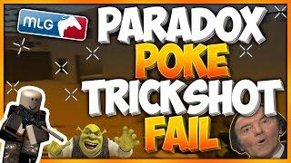 PARADOX POKE TRIES TO TRICKSHOT ME & FAILS   ROBLOX Phantom Forces [BETA]