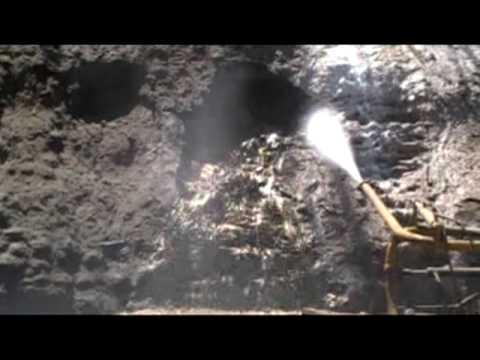 Borehole Mining Field Test