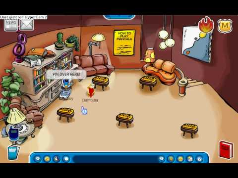 Club Penguin: New Igloo Music and Pin