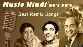 DJ Hindi Old Remix Songs - Best Of Bollywood Old Hindi Songs - Mohammed Rafi