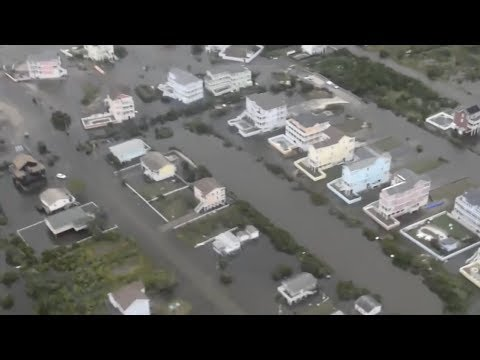 Hurricane Arthur Floods Outer Banks, North Carolina