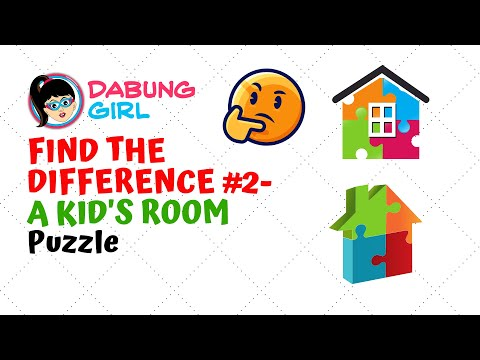 😎 Child's Room II - Spot the Difference Paheliyan | Can you find the difference? | Puzzle #2