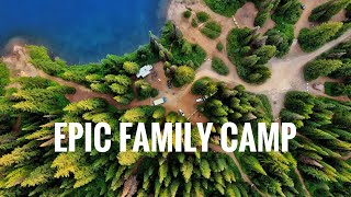 EPIC Family Mountain Wilderness Camp - August 2019 | An ROG Film