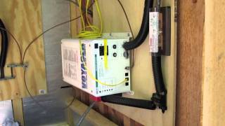 Off Grid Cabin - Solar Electric Power System overview