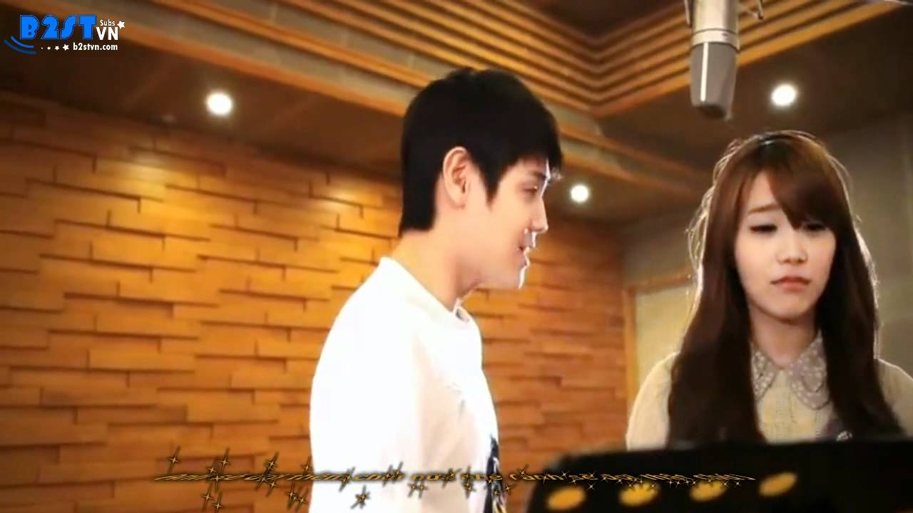 Yoseob & Eunji announce their Be My Partner event
