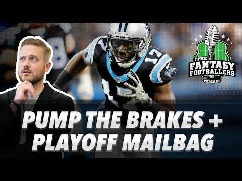 Fantasy Football 2017 - Pump the Brakes, Playoff Questions, Meat Cupcake - Ep. #493
