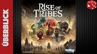 Rise of Tribes (Brad Brooks, Breaking Games 2018) - Rezension
