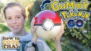 POKEMON GO GIANT GUMMY POKEBALL How To Cook That Ann Reardon Pokemon Go
