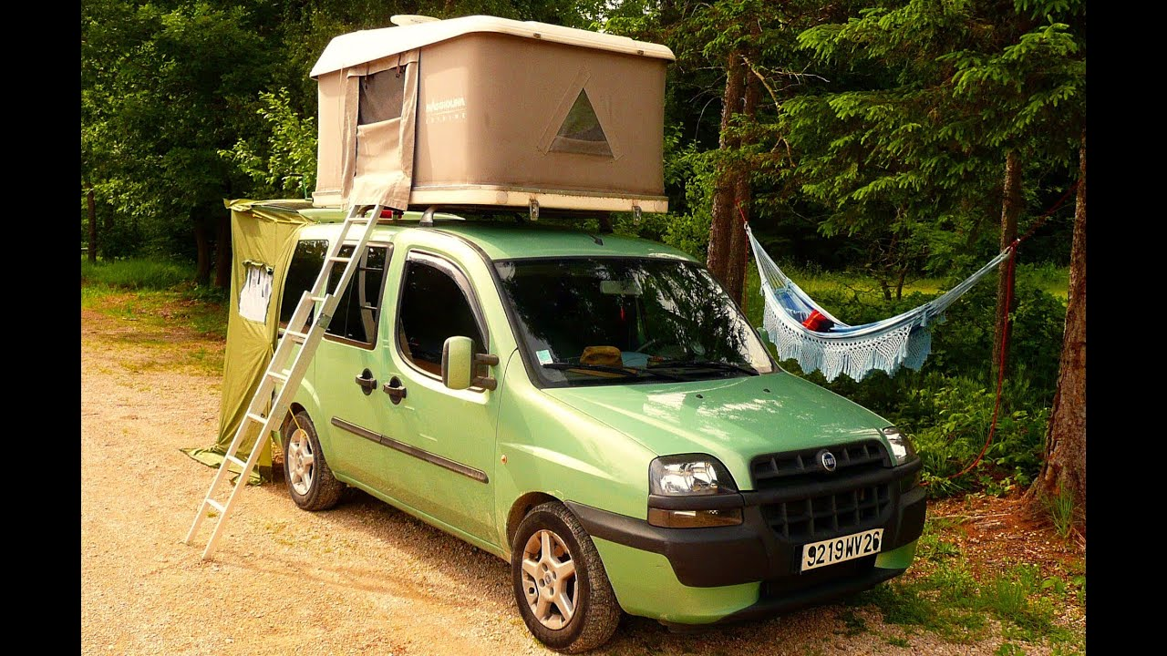 Populaire DOBLO CAMPING-CAR vol 2 (LOUL) - YouTube RL46