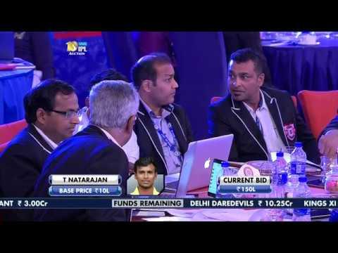 VIVO IPL Player Auction 2017 - Top Buys