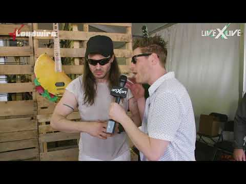 Andrew W.K.'s Pizza & Taco Party at Rock on the Range
