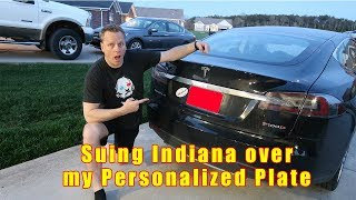 Indiana Won't give me the License plate I want!