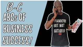 Part 2 of 8 - ABCs of Success in Business (Master 26 Money Tips) - BNB