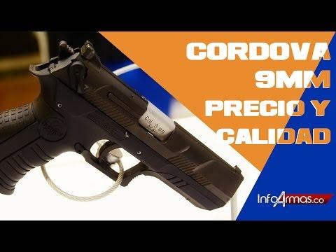 Precio Pistola CORDOVA 9MM Colombiana NO Cordoba si no..