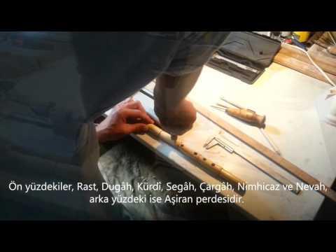 HOW TO MAKE A TURKISH REED FLUTE [ NEY ] NEY Yapımı