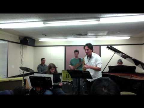 Berklee Jazz Ensemble playing Afternoon In Paris by John Lewis