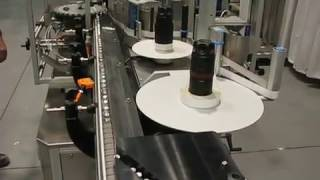 Video Aesus Vial Feeding Stacking Tables with Aesus EcoStarWrap Labeler download MP3, 3GP, MP4, WEBM, AVI, FLV Desember 2017