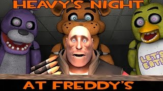 Heavy's Night at Freddy's [SFM]