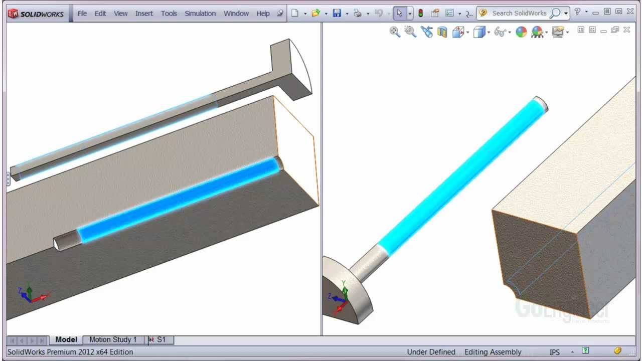 how to start solidworks simulation
