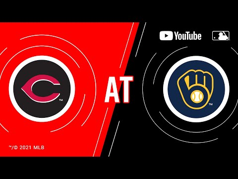Reds at Brewers | MLB Game of the Week Live on YouTube