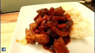 STEW DOW CHICKEN WITH RICE -Chef Ricardo Cooking