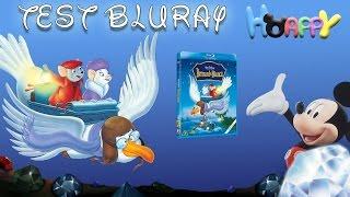 TEST Bluray #4 Les aventures de Bernard & Bianca