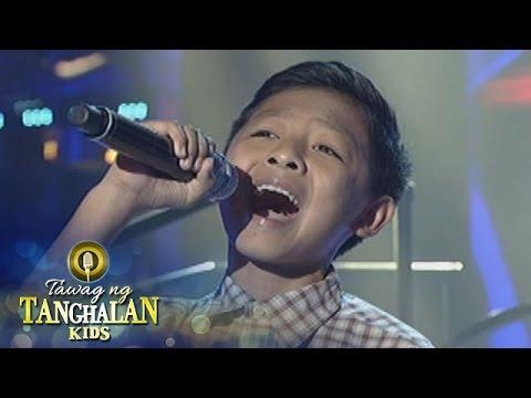 Tawag ng Tanghalan Kids: King Gabriel Hernandez | Bulag, Pipi, at Bingi