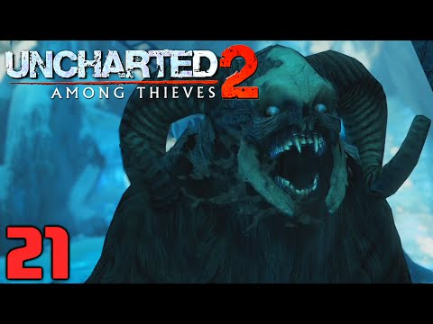 UNCHARTED Nathan Drake Collection : Let's Play #21 [FACECAM] - HILFE MONSTER !!