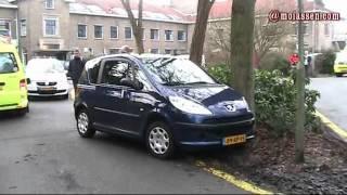 video Eenzijdig ongeval op het terrein van GGZ Drenthe in Assen.