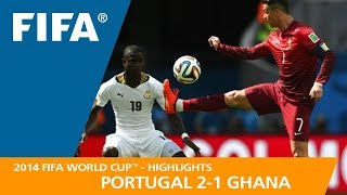PORTUGAL v GHANA (2:1) - 2014 FIFA World Cup™