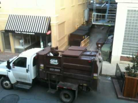 Gds Putting Trash And Recycling In Same Truck