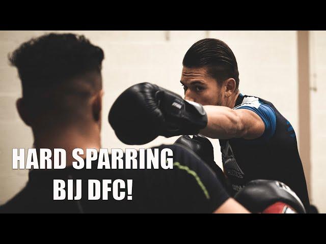 De wedstrijdmentaliteit trainen! | Hard sparren bij DFC