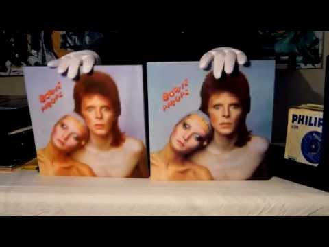 David Bowie Five Years (1969 - 1973) box set & the original LP albums