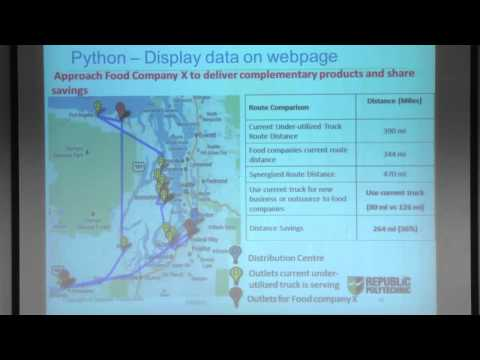 Application of Python in Google App Engine for Transportation Partnership - Edmund Chan