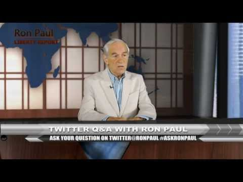Twitter Q&A With Ron Paul