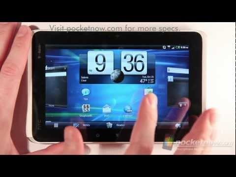 T-Mobile HTC Flyer Software Tour