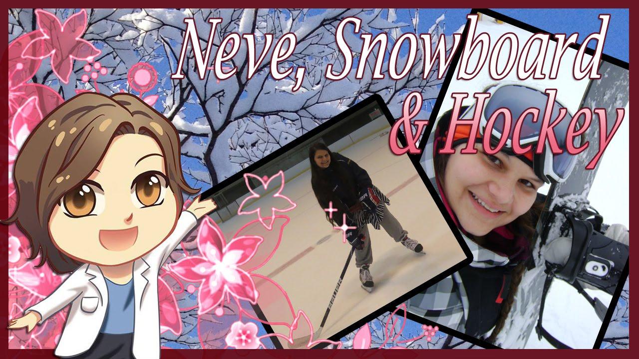 Meu caminho - neve, snowboard e hockey