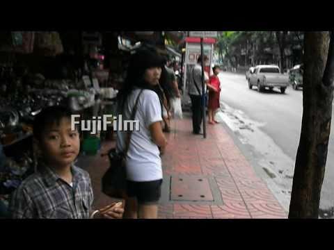 FujiFilm Finepix Av110Hd Movie Test