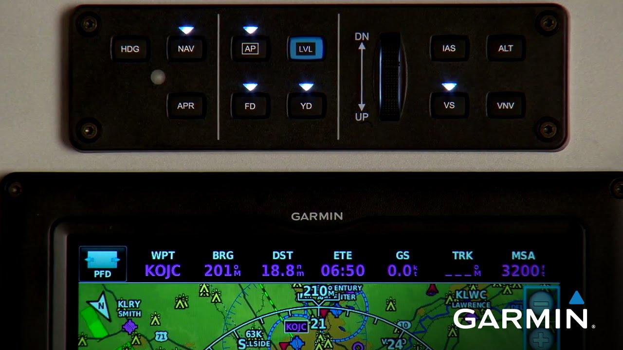 Garmin G3X Touch: Operating the Autopilot
