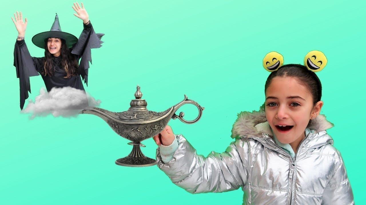 Heidi y Zidane y su aventura de invierno con la Lampara Mágica 💫