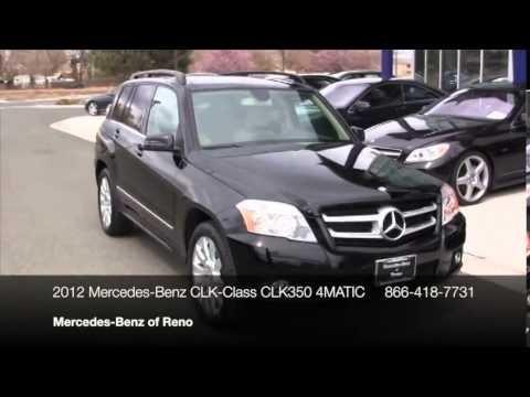 2012 mercedes benz glk class 4matic 4dr glk350 suv reno for Mercedes benz reno nv