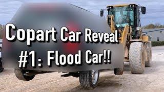 Copart Auction Win #1 Revealed!! Flood!!