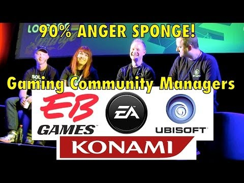 """90% ANGER-SPONGE!"" - Gaming Community Managers speak"